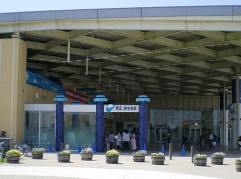 新江の島水族館入口