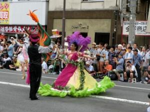 パレードのパフォーマンス