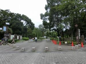 木場公園入口
