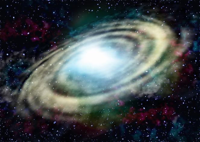 宇宙の地球イメージ