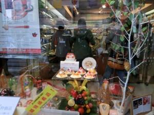 食品のサンプル店