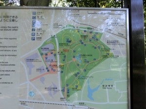 代々木公園地図
