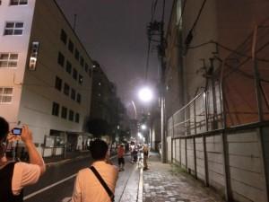隅田川花火大会の写真を撮る