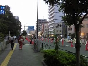 隅田川花火大会の観客