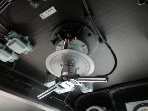 天井の計器
